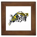 Navy Midshipmen -  Framed Tile
