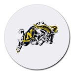 Navy Midshipmen -  Round Mousepad