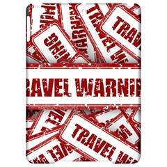 Travel Warning Shield Stamp Apple Ipad Pro 9 7   Hardshell Case by Nexatart