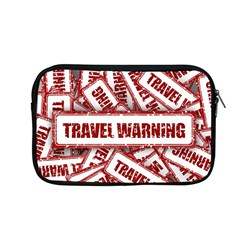 Travel Warning Shield Stamp Apple Macbook Pro 13  Zipper Case by Nexatart