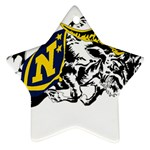 Navy Midshipmen -  Ornament (Star)