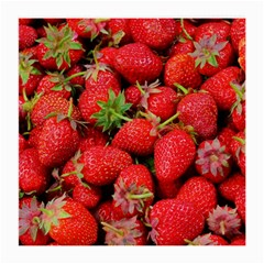 Strawberries Berries Fruit Medium Glasses Cloth (2 Side)