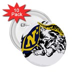 Navy Midshipmen -  2.25  Button (10 pack)