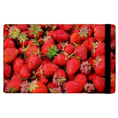 Strawberries Berries Fruit Apple Ipad 3/4 Flip Case by Nexatart