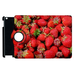 Strawberries Berries Fruit Apple Ipad 2 Flip 360 Case