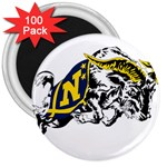 Navy Midshipmen -  3  Magnet (100 pack)