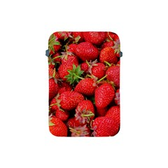Strawberries Berries Fruit Apple Ipad Mini Protective Soft Cases by Nexatart
