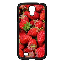 Strawberries Berries Fruit Samsung Galaxy S4 I9500/ I9505 Case (black) by Nexatart