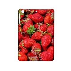 Strawberries Berries Fruit Ipad Mini 2 Hardshell Cases by Nexatart