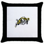 Navy Midshipmen -  Throw Pillow Case (Black)