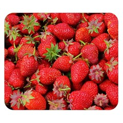 Strawberries Berries Fruit Double Sided Flano Blanket (small)