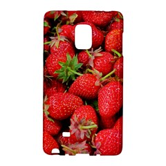 Strawberries Berries Fruit Galaxy Note Edge