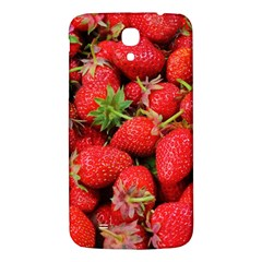 Strawberries Berries Fruit Samsung Galaxy Mega I9200 Hardshell Back Case by Nexatart