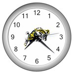Navy Midshipmen -  Wall Clock (Silver)