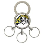 Navy Midshipmen -  3-Ring Key Chain