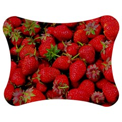 Strawberries Berries Fruit Jigsaw Puzzle Photo Stand (bow)