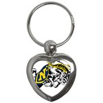Navy Midshipmen -  Key Chain (Heart)
