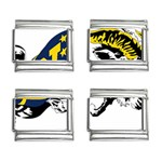 Navy Midshipmen -  9mm Italian Charm (4 pack)