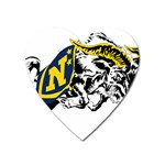 Navy Midshipmen -  Magnet (Heart)