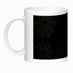 Spider Web Night Luminous Mugs by Valentinaart