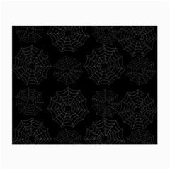 Spider Web Small Glasses Cloth by Valentinaart