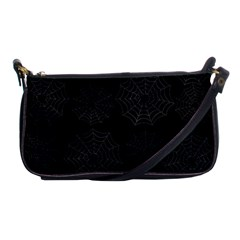 Spider Web Shoulder Clutch Bags by Valentinaart