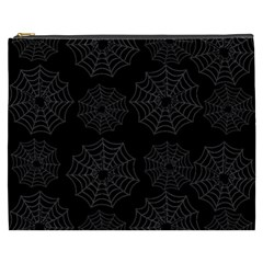 Spider Web Cosmetic Bag (xxxl)  by Valentinaart