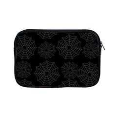 Spider Web Apple Ipad Mini Zipper Cases by Valentinaart