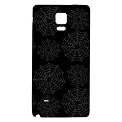 Spider Web Galaxy Note 4 Back Case by Valentinaart