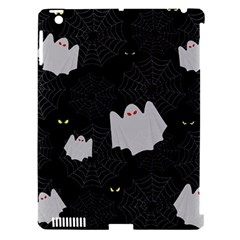 Spider Web And Ghosts Pattern Apple Ipad 3/4 Hardshell Case (compatible With Smart Cover) by Valentinaart
