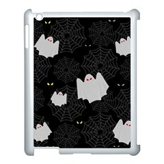 Spider Web And Ghosts Pattern Apple Ipad 3/4 Case (white) by Valentinaart