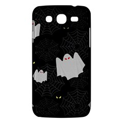 Spider Web And Ghosts Pattern Samsung Galaxy Mega 5 8 I9152 Hardshell Case  by Valentinaart