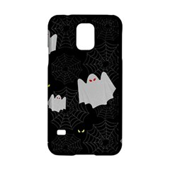 Spider Web And Ghosts Pattern Samsung Galaxy S5 Hardshell Case  by Valentinaart