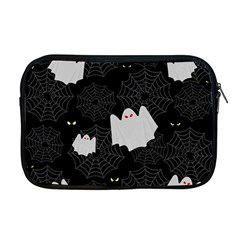 Spider Web And Ghosts Pattern Apple Macbook Pro 17  Zipper Case by Valentinaart