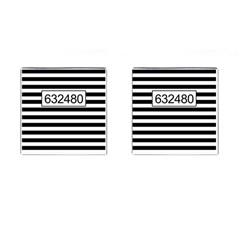 Prison  Cufflinks (square) by Valentinaart
