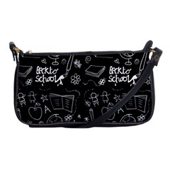 Back To School Shoulder Clutch Bags by Valentinaart
