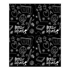 Back To School Shower Curtain 60  X 72  (medium)  by Valentinaart