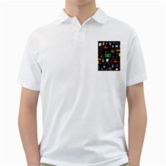 Back To School Golf Shirts by Valentinaart