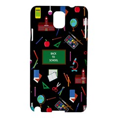 Back To School Samsung Galaxy Note 3 N9005 Hardshell Case by Valentinaart