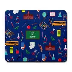 Back To School Large Mousepads by Valentinaart