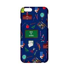 Back To School Apple Iphone 6/6s Hardshell Case by Valentinaart
