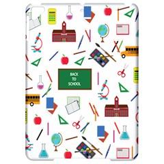 Back To School Apple Ipad Pro 9 7   Hardshell Case by Valentinaart