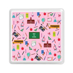 Back To School Memory Card Reader (square)  by Valentinaart
