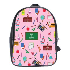 Back To School School Bag (xl) by Valentinaart