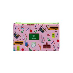 Back To School Cosmetic Bag (xs) by Valentinaart