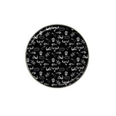Skeleton Pattern Hat Clip Ball Marker (10 Pack) by Valentinaart