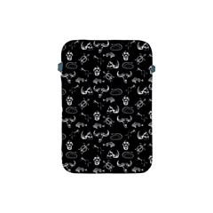 Skeleton Pattern Apple Ipad Mini Protective Soft Cases by Valentinaart