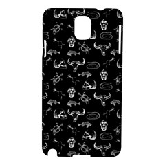 Skeleton Pattern Samsung Galaxy Note 3 N9005 Hardshell Case by Valentinaart