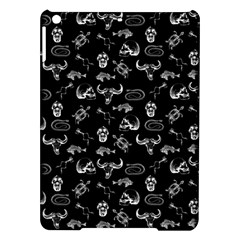 Skeleton Pattern Ipad Air Hardshell Cases by Valentinaart