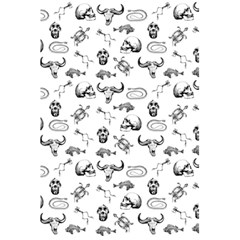 Skeleton Pattern 5 5  X 8 5  Notebooks by Valentinaart
